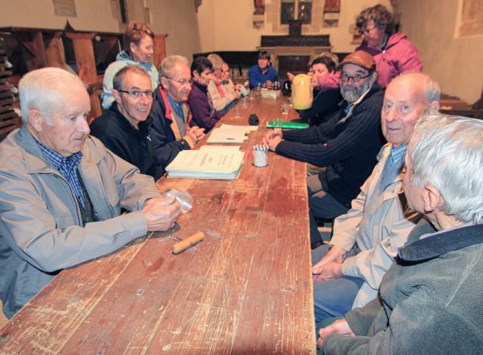 Le comité de Saint-Mathieu en 2015